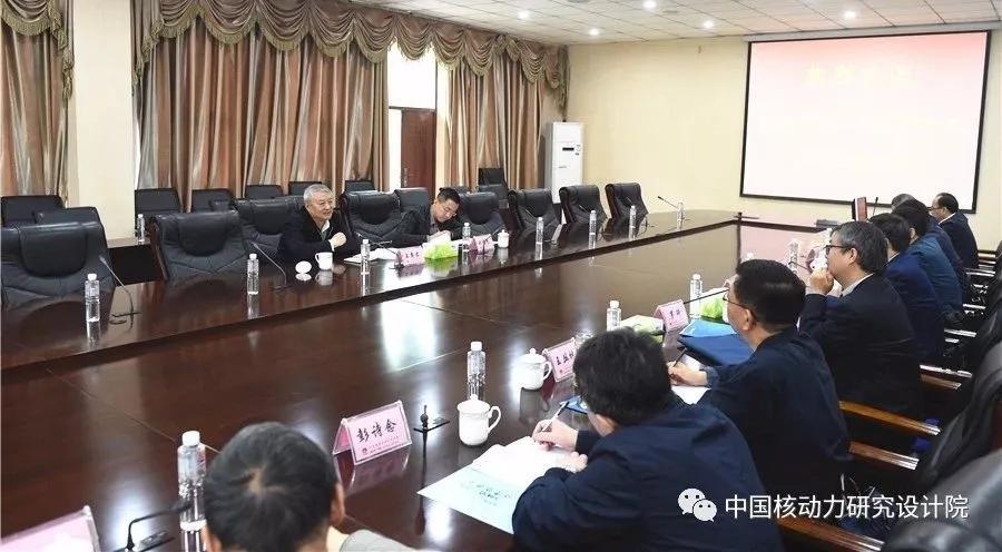 王壽君赴核動力院:一張藍圖繪到底,支撐中華民族的偉大復興